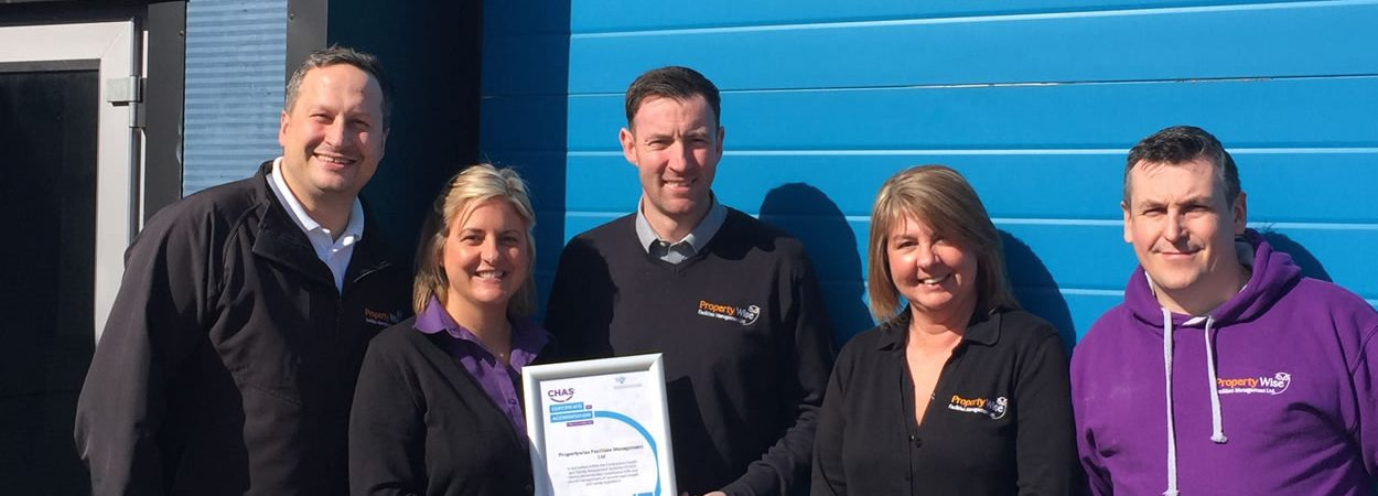 We've been awarded CHAS certification